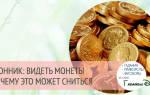 Видеть во сне много монет сонник