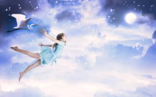Летать во сне к чему снится сонник