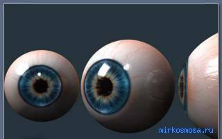 Сонник большие глаза
