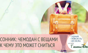 К чему снится чемодан с деньгами сонник