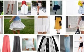 Сонник белая длинная юбка