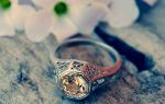 Видеть во сне серебряное кольцо сонник