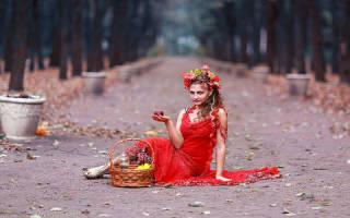 Сонник красное платье на женщине