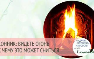 Видеть во сне огонь что означает сонник