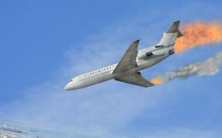 Видеть во сне падающий самолет со стороны сонник