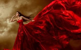 Видеть себя во сне в красном платье сонник