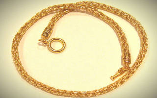 К чему снятся золотые цепочки много сонник