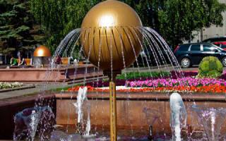 Сонник фонтан с чистой водой